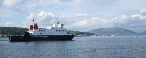 ferry at Rothesay, Bute