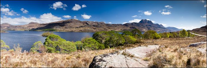 Slioch and Loch Maree, Ross-shire