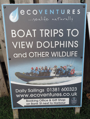 Eco Ventures boat trips Cromarty