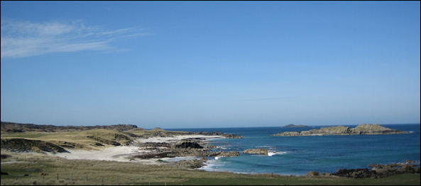 Beach at the North end of Iona