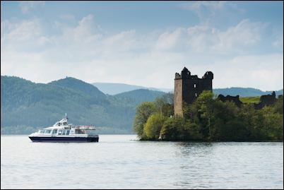 Loch Ness by Jacobite cruises