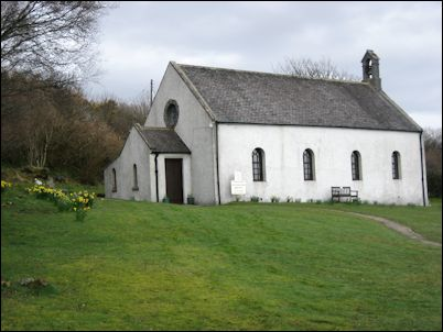 Jura Parish Church at Craighouse, Scotland
