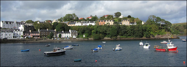 Portree harbour, Skye