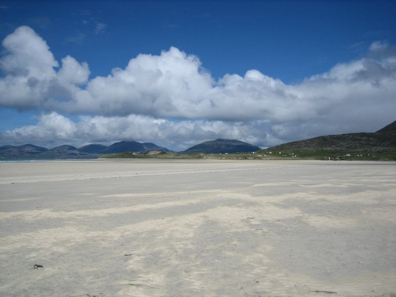 how to get to luskentyre beach