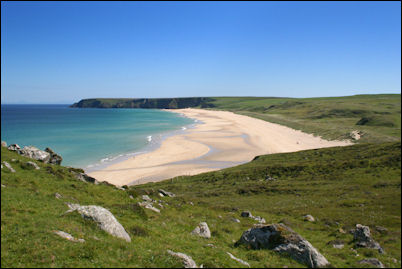 Tolsta beach, Isle of Lewis, Scotland